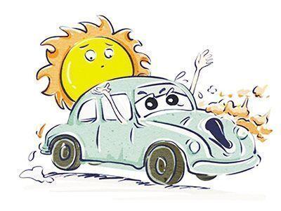 入伏持续高温 专家提醒电动汽车避免暴晒下充电