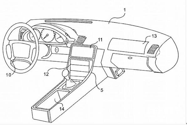 苹果汽车的样子 藏在这八大专利里