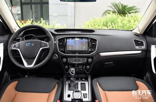 幸福家享型SUV的 跃马 之作,试驾吉利远景SUV高清图片