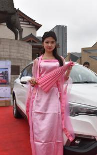 2016中国自主汽车品牌—黄河文化节 车模展示