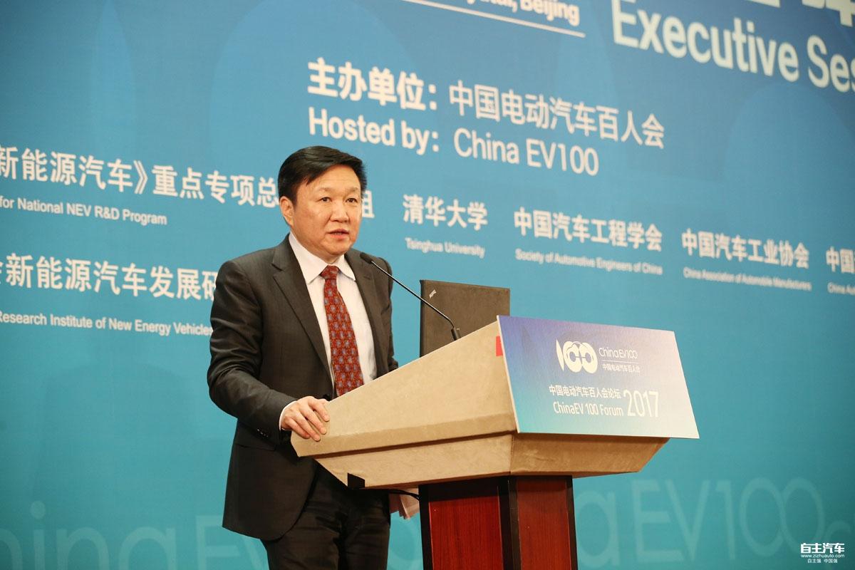曹忠:创新驱动是缔造世界级电动汽车品牌的根基