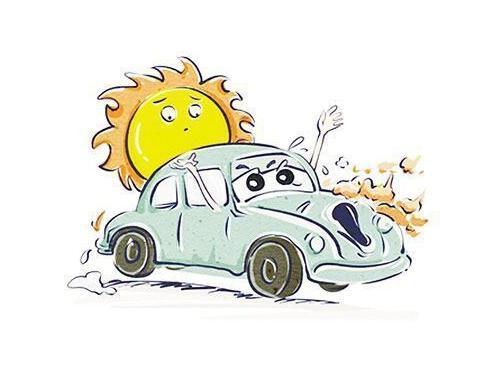 持续高温 专家提醒电动汽车避免暴晒下充电