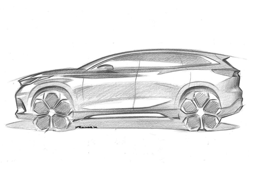 奇瑞m31t手绘图曝光 法兰克福车展将迎全球首发